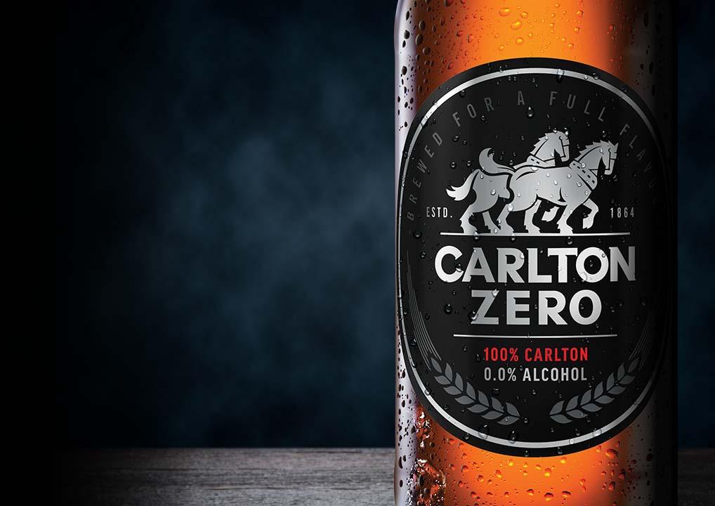 Carlton Zero font page