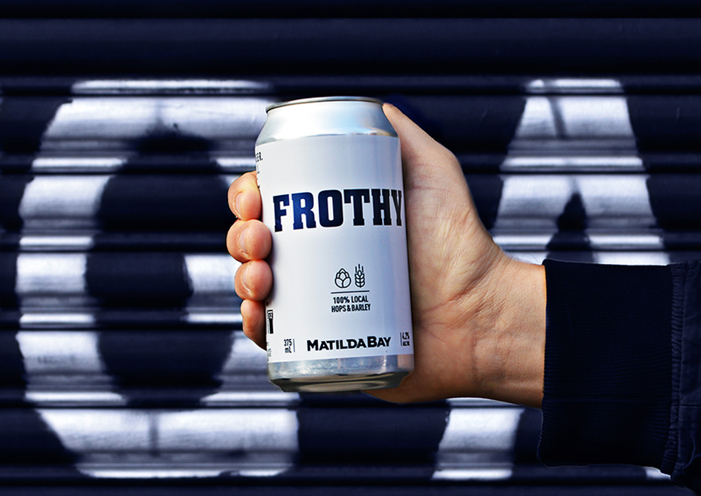 frothy cover